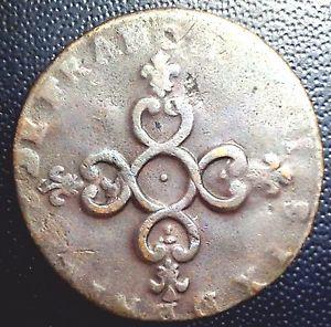 Louis XIV 6 denier